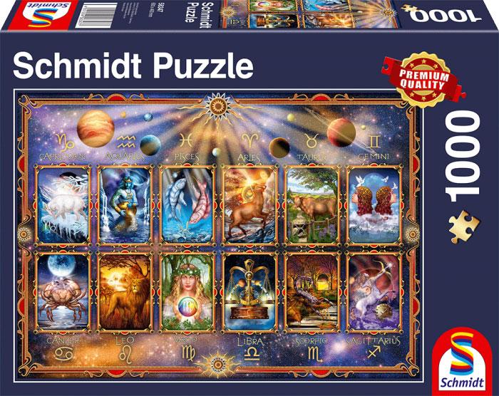 Puzzle Schmidt Los Signos del Zodiaco de 1000 Piezas