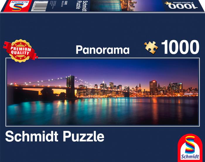 Puzzle Schmidt Luces de Nueva York de 1000 Piezas