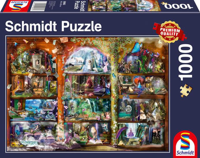 Puzzle Schmidt Magia de Cuento de Hadas de 1000 Piezas
