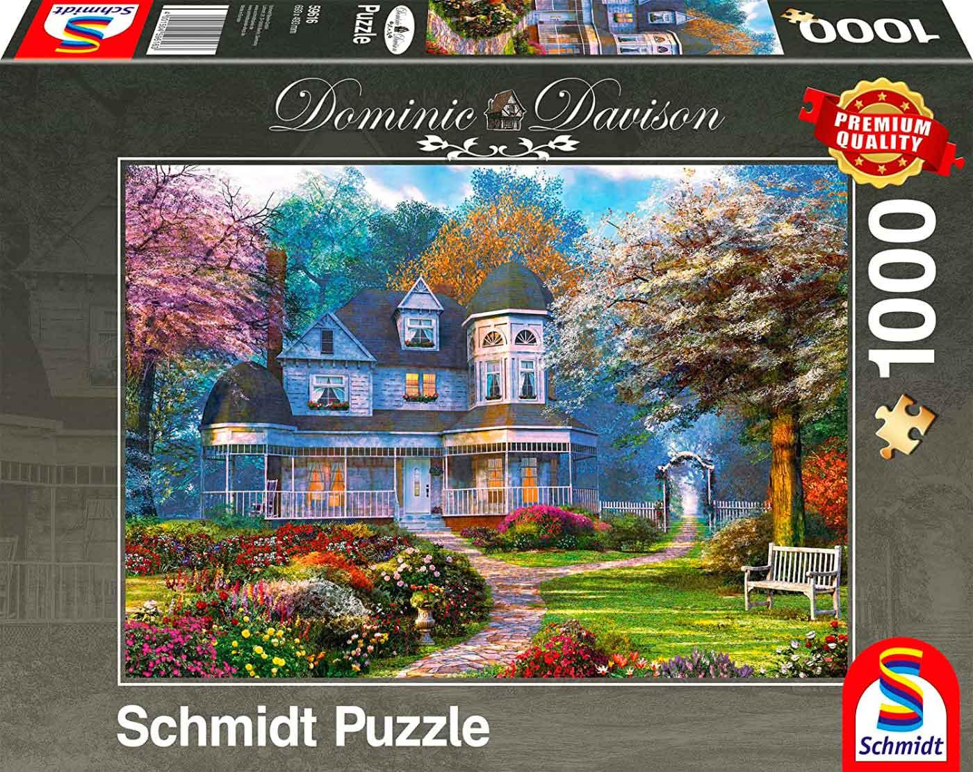 Puzzle Schmidt Mansión Victoriana de 1000 Piezas