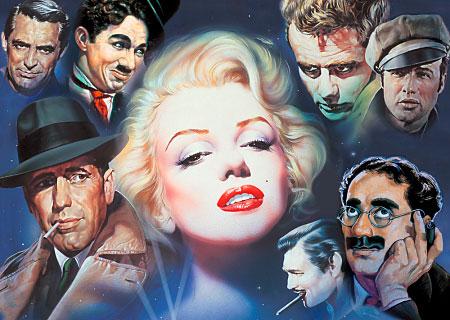 Puzzle Schmidt Marilyn y Amigos de 1000 Piezas