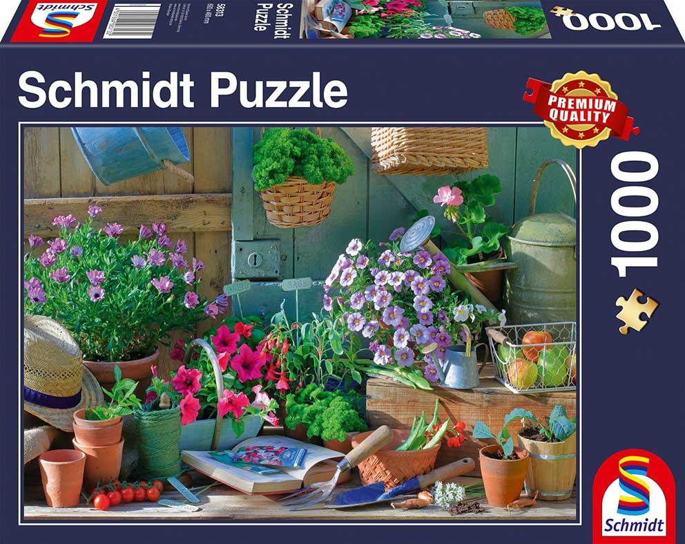 Puzzle Schmidt  Mesa de Jardín de 1000 Piezas