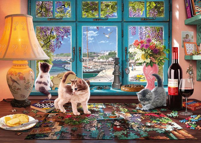 Puzzle Schmidt Mesa para hacer Puzzles de 1000 Piezas