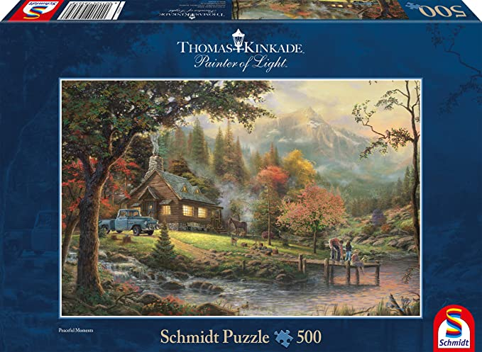 Puzzle Schmidt Momento de Paz de 500 Piezas