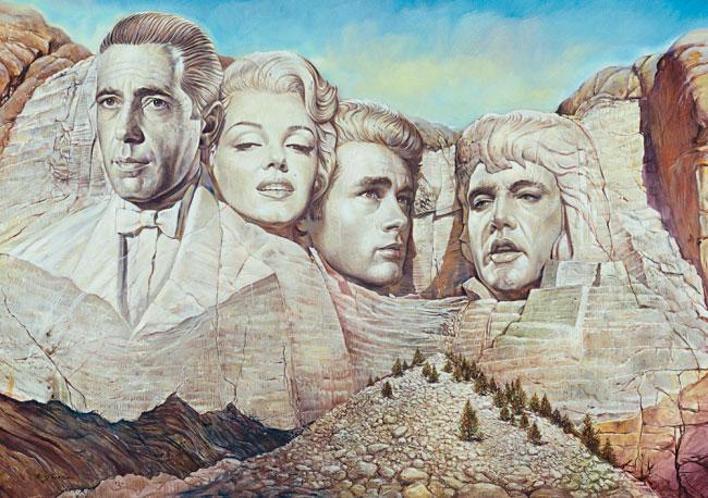 Puzzle Schmidt Montaña Hollywood de 1500 Piezas
