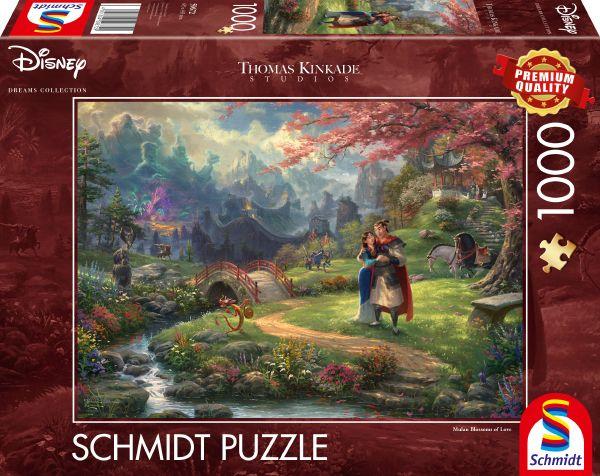 Puzzle Schmidt Mulán de 1000 Piezas