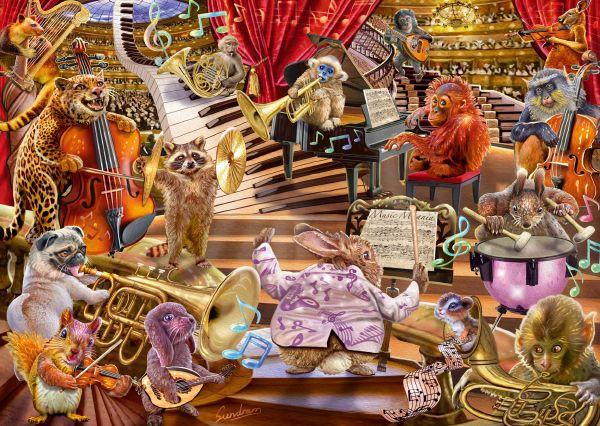 Puzzle Schmidt Music Mania de 1000 Piezas