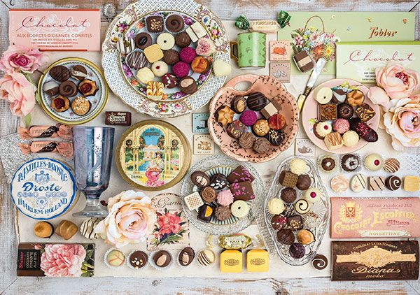 Puzzle Schmidt Nostalgia de Chocolates de 1500 Piezas