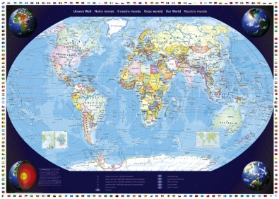 Puzzle Schmidt Nuestro Mundo de 2000 Piezas