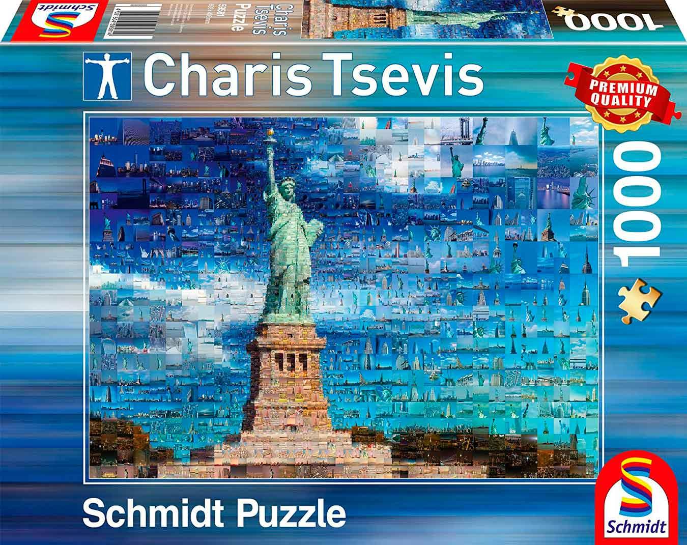 Puzzle Schmidt Nueva York de 1000 Piezas
