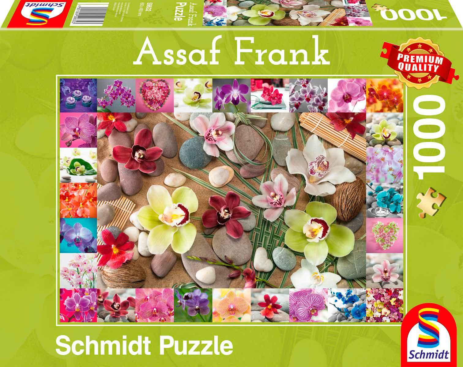 Puzzle Schmidt Orquídeas de 1000 Piezas