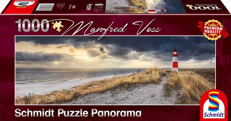 Puzzle Schmidt Panorama El Faro de 1000 piezas