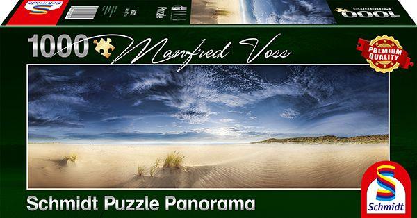 Puzzle Schmidt Panorama Espacio Infinito, Isla Sylt de 1000 Pzs