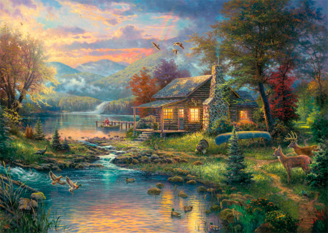 Puzzle Schmidt Paraíso Natural de 1000 Piezas