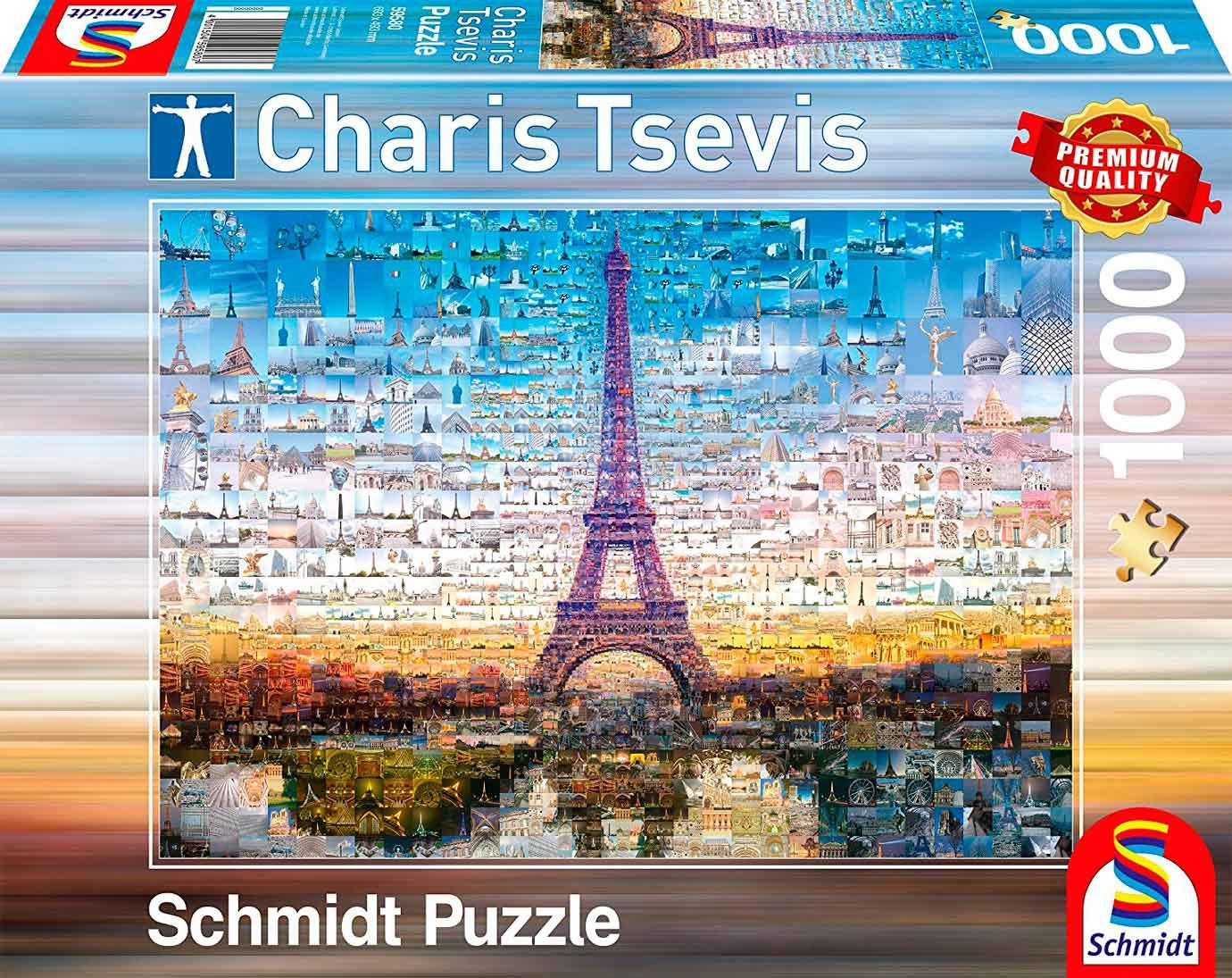 Puzzle Schmidt Paris de 1000 Piezas