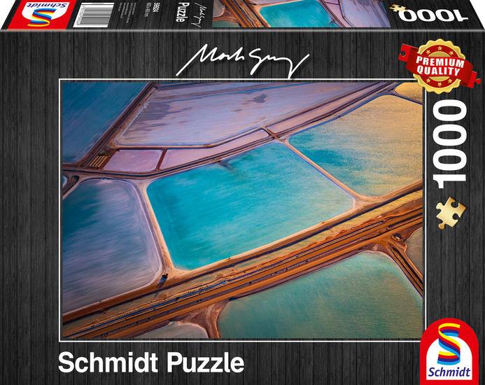 Puzzle Schmidt Pastels de 1000 Piezas