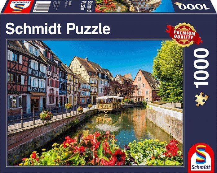 Puzzle Schmidt Pequeño Pueblo de 1000 Piezas