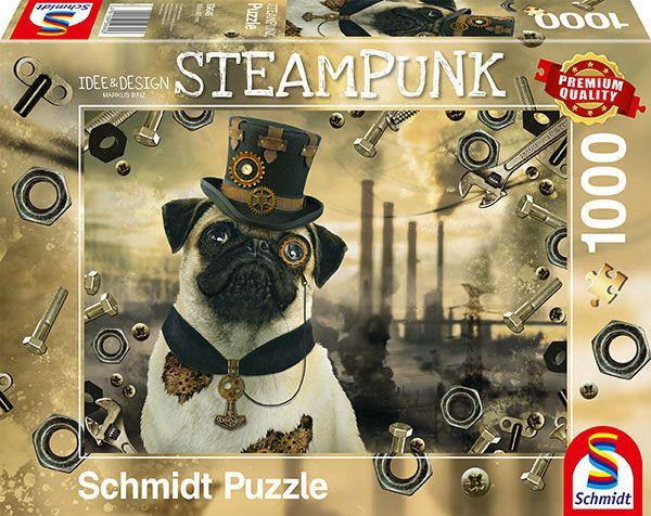 Puzzle Schmidt Perro Steampunk de 1000 Piezas