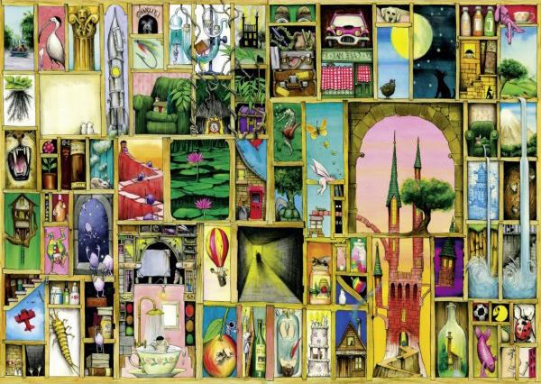 Puzzle Schmidt Perspectivas de 1000 Piezas