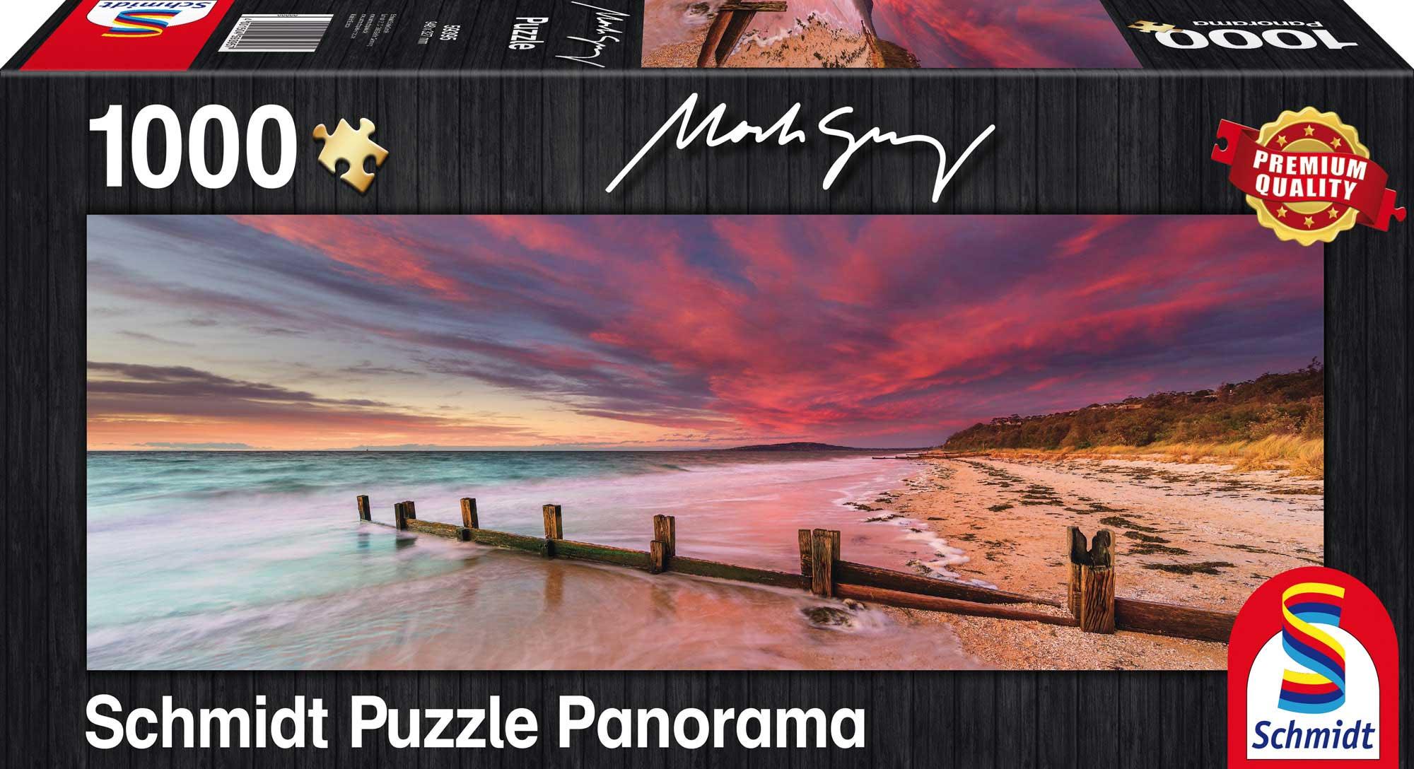 Puzzle Schmidt Playa de MccRae, Australia de 1000 piezas