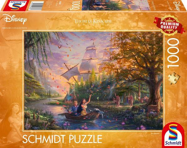 Puzzle Schmidt Pocahontas de 1000 Piezas