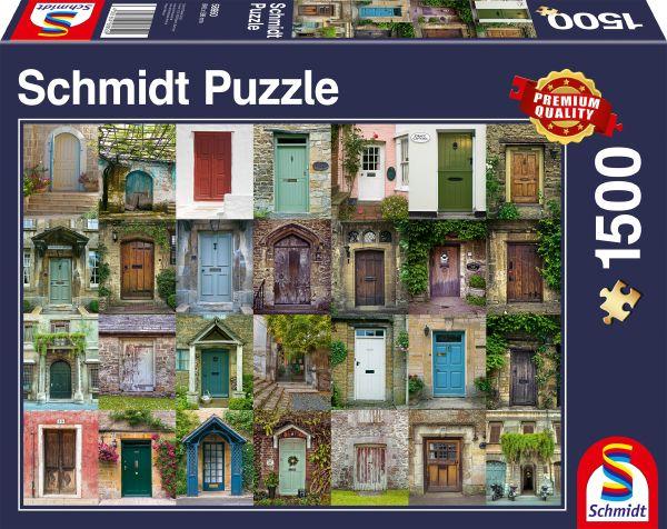 Puzzle Schmidt Puertas de 1500 Piezas