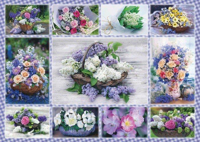 Puzzle Schmidt Ramos de Flores de 500 Piezas