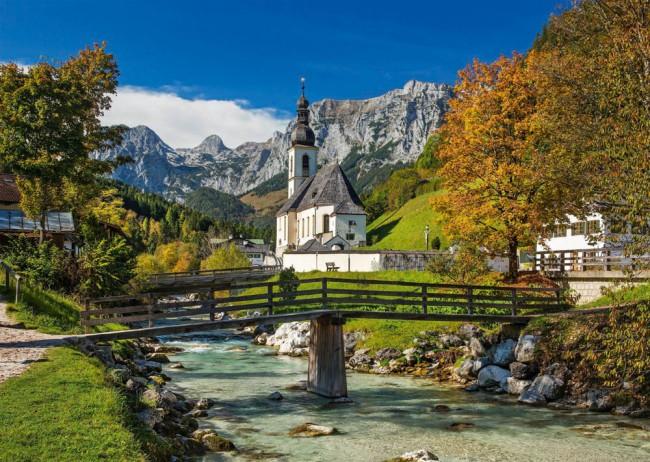 Puzzle Schmidt Ramsau, Los Alpes de 1000 Piezas