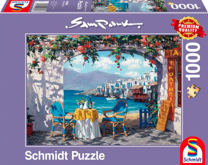 Puzzle Schmidt Recuerdos de Mikonos de 1000 Piezas