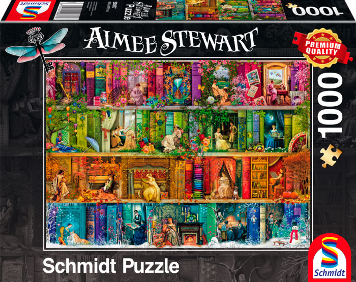 Puzzle Schmidt Regreso al Pasado de 1000 Piezas