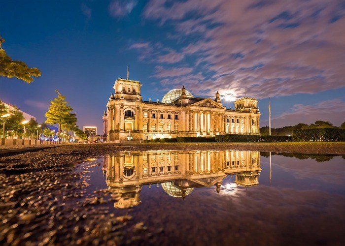 Puzzle Schmidt Reichstag de Berlin de 1000 Piezas