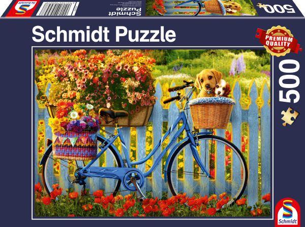 Puzzle Schmidt Salida Dominical con Buenos Amigos de 500 P.