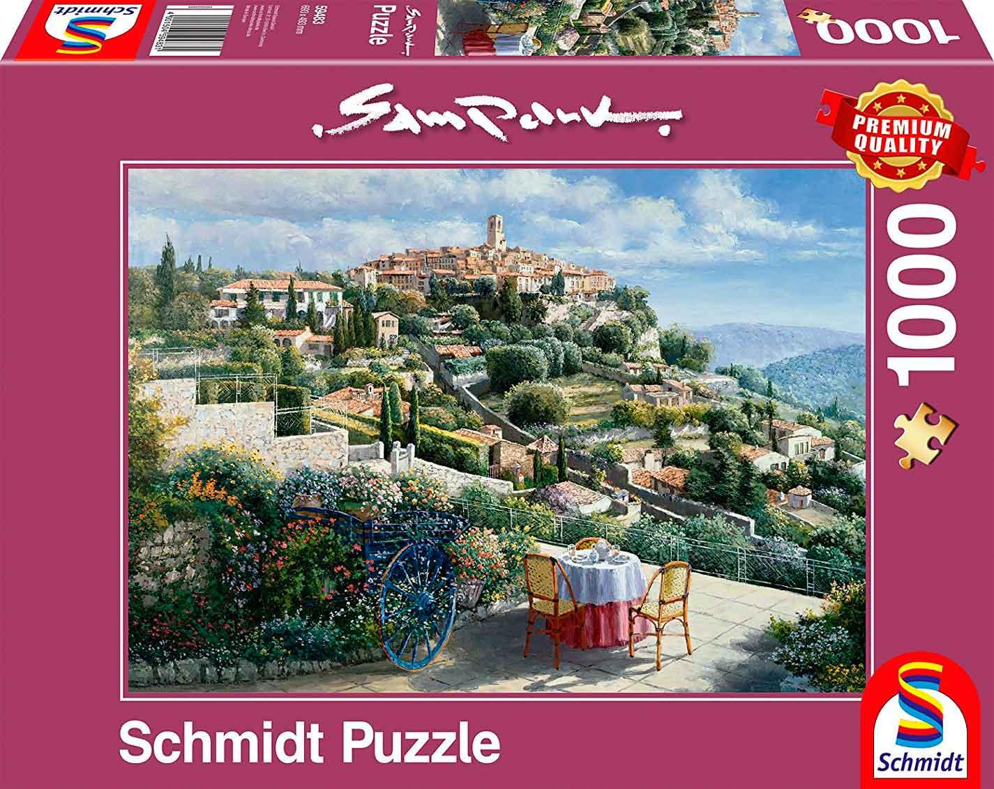 Puzzle Schmidt San Paul de Vence de 1000 Piezas
