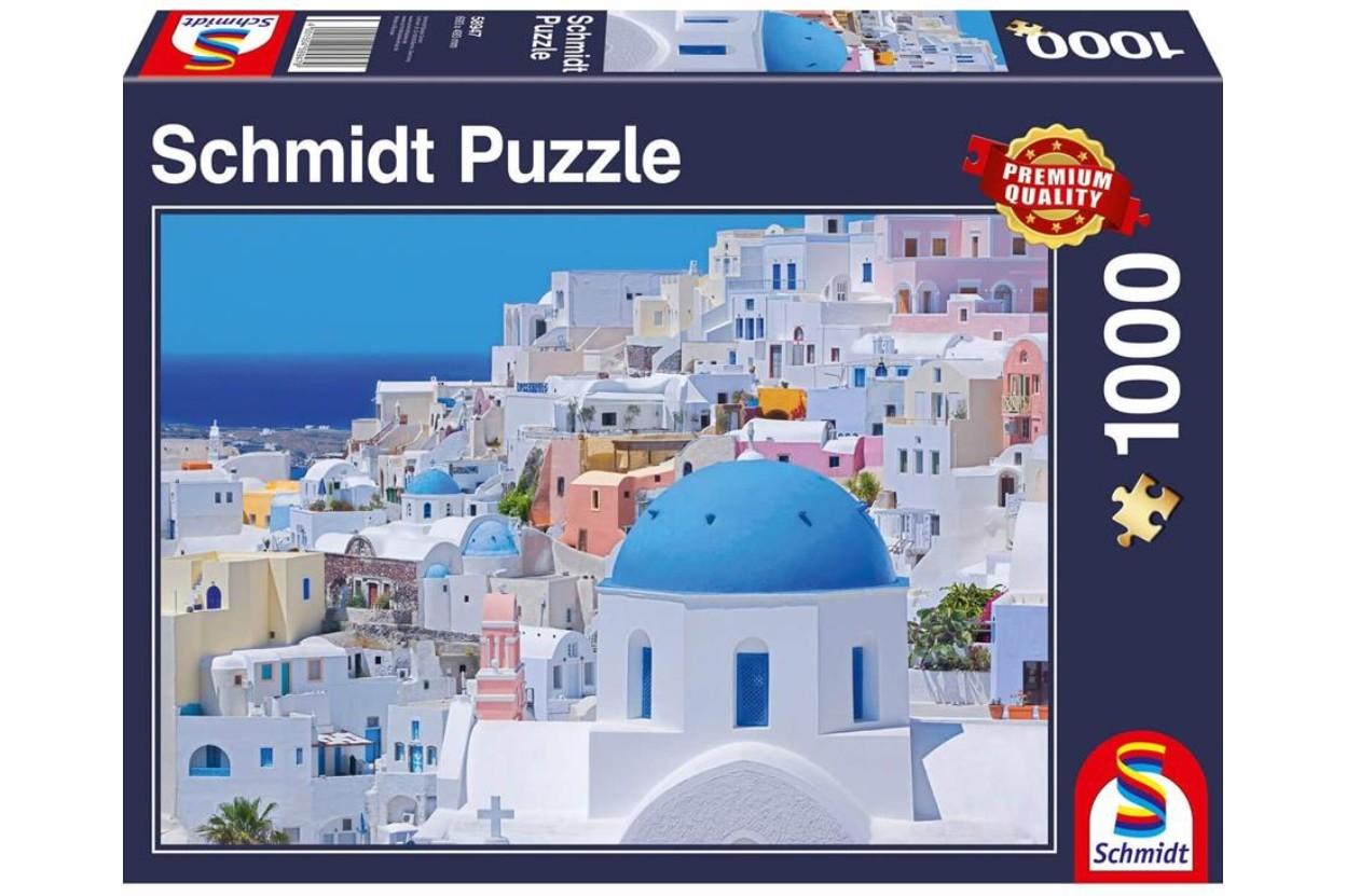 Puzzle Schmidt Santorini, Las Cícladas de 1000 Piezas