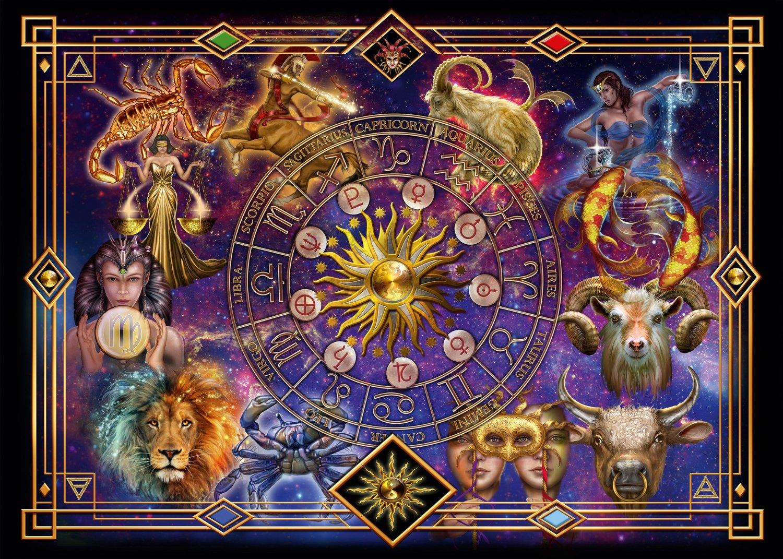 Puzzle Schmidt Signos del Zodiaco de 1000 Piezas