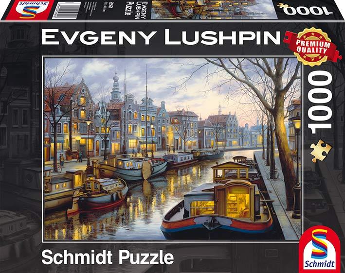 Puzzle Schmidt Sobre el Canal de 1000 Piezas
