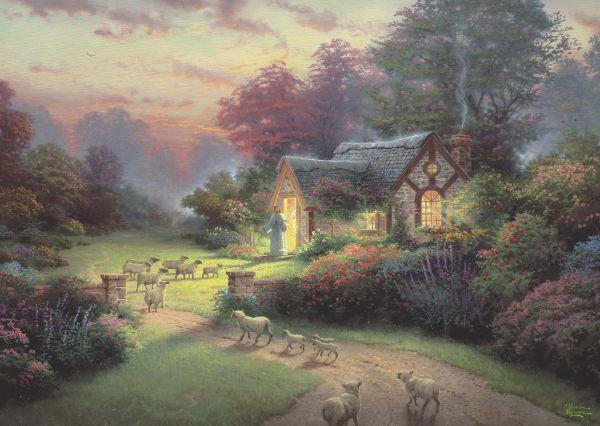 Puzzle Schmidt Spirit La Cabaña del Buen Pastor de 1000 Piezas