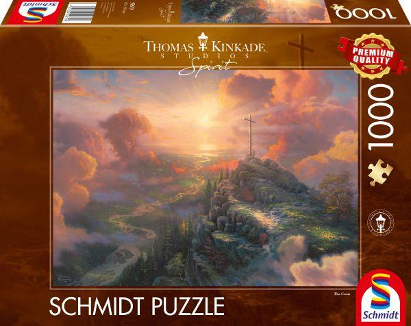 Puzzle Schmidt Spirit La Cruz de 1000 Piezas
