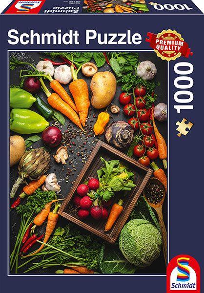 Puzzle Schmidt Super Alimentos de 1000 Piezas