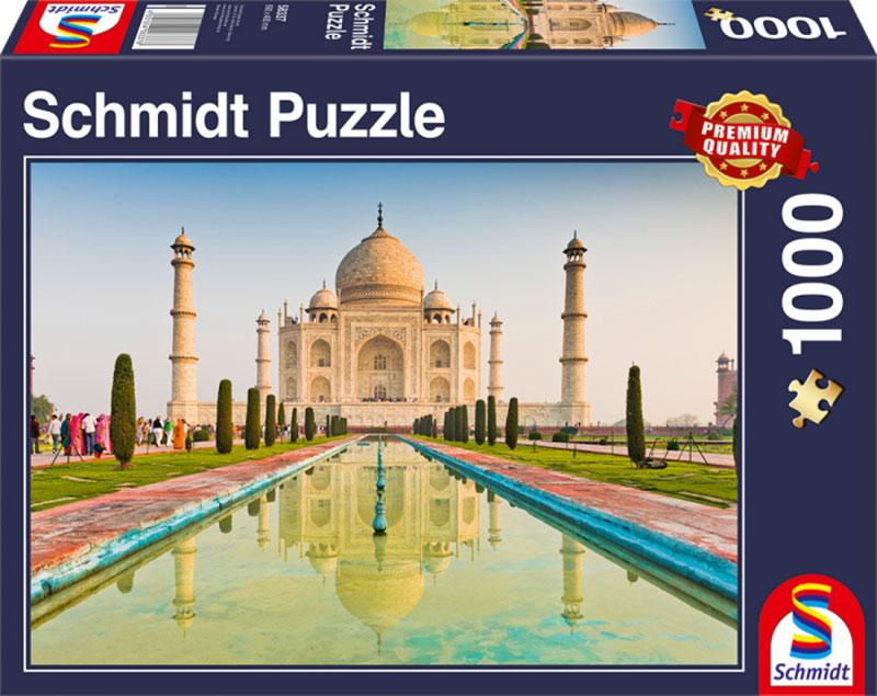 Puzzle Schmidt Taj Mahal, India de 1000 Piezas