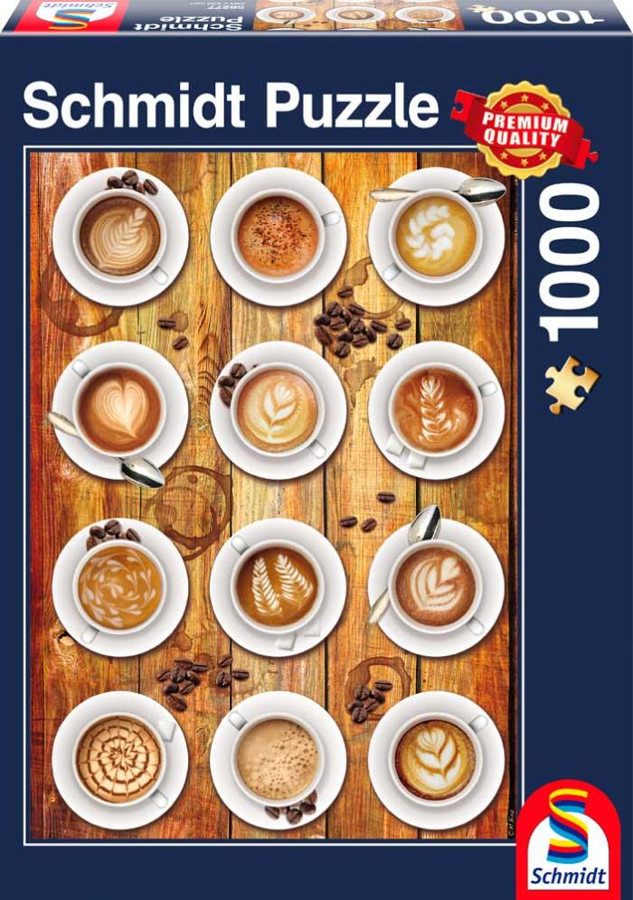 Puzzle Schmidt Te gusta el Café de 1000 Piezas