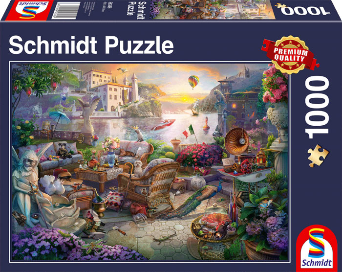 Puzzle Schmidt Terraza Italiana de 1000 Piezas