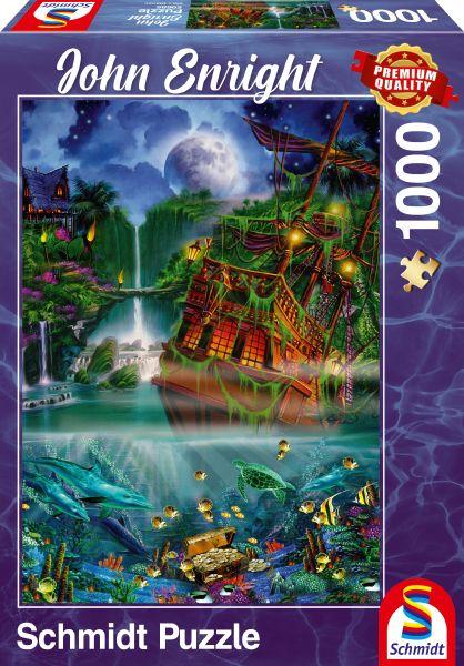 Puzzle Schmidt Tesoro Hundido de 1000 Piezas