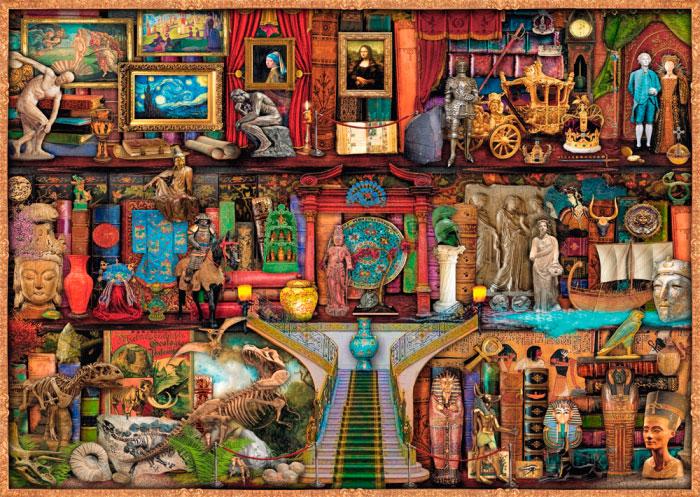 Puzzle Schmidt Tesoros del Arte de 1000 Piezas