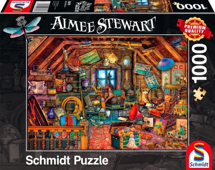 Puzzle Schmidt Tesoros del Ático de 1000 Piezas