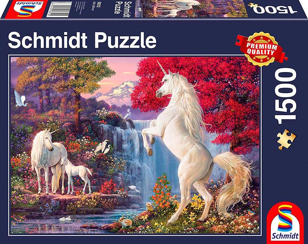Puzzle Schmidt Triunfo de los Unicornios de 1500 Piezas