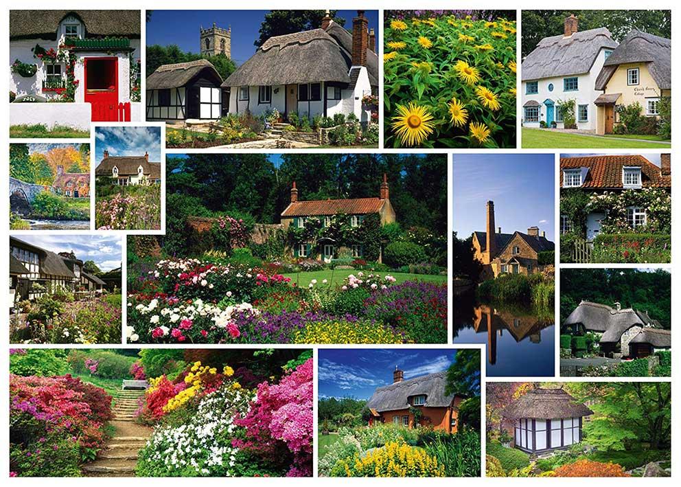 Puzzle Schmidt Vacaciones en Inglaterra de 1000 Piezas