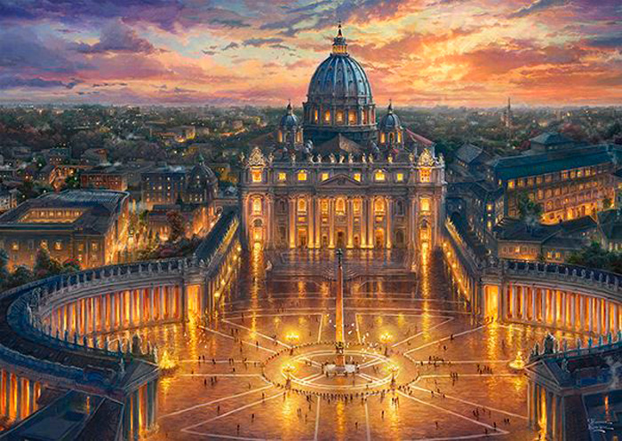 Puzzle Schmidt Vaticano de 1000