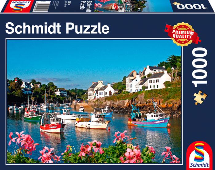 Puzzle Schmidt Verano en el Agua de 1000 Piezas