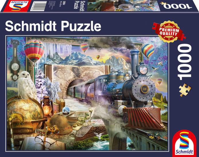 Puzzle Schmidt Viaje Mágico de 1000 Piezas